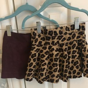 2 Toddler Skirts (for fall/winter) 2T and 24m
